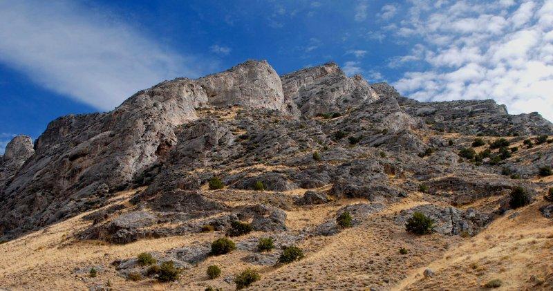 Cobb Peak up above
