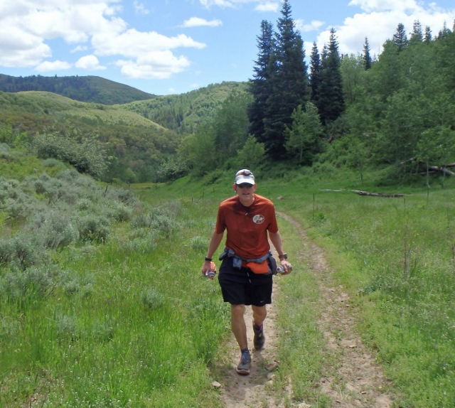 Me at about mile 83 - Andrew Barney photo
