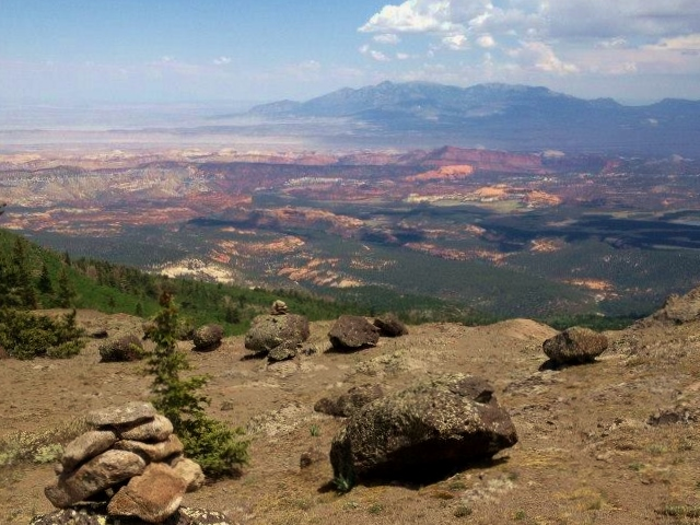 View from the rim.  Ultra Adventures photo