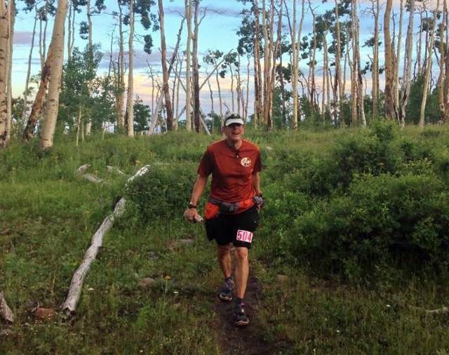 Me, two miles after the turnaround - Sam Jewkes photo