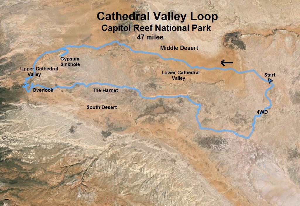 Cathedral Valley Loop 47 miles Davy Crocketts Running Frontier