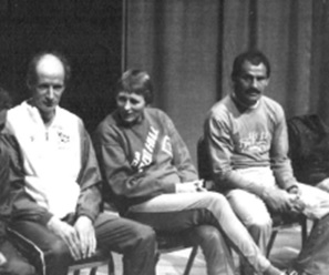 The best ultrarunners in the world before the 1990 race, Don Ritchie, Eleanor Adams, and Yiannis Kouros